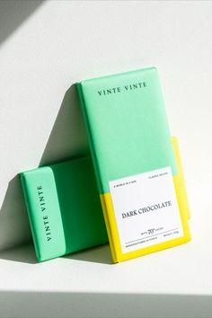 Creative chocolate bar packaging