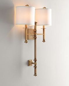 Devon+Two-Light+Sconce+at+Neiman+Marcus.