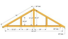 Grab inspiring Marvelous Roof Truss Design Roof Trusses Design ideas from Marie Cook to renovate your space. The Plan, How To Plan, Building A Shed Roof, Deck Building Plans, Building Permit, Diy Shed Kits, Diy Storage Shed Plans, Roof Storage, Storage Units
