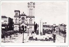 CAMPINAS Praça Visconde de Indayatuba e Igreja do Rosário.