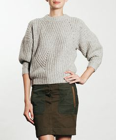 Pila Sweater by Isabel Marant via http://frenchgarmentcleaners.com