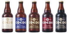 COEDO BEER [白/瑠璃/伽羅/紅赤/漆黒]