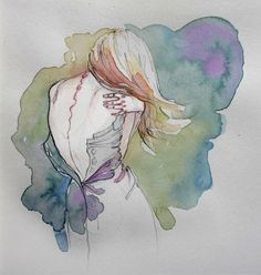 I just love watercolours.