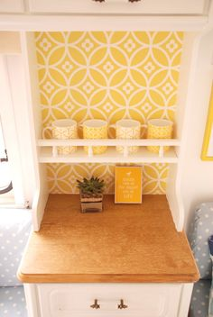 This caravan makeover by the Twinkle Diaries is awesome!