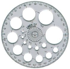 Linex Radius Aid is a great product made by Linex. Available form Graphics Direct at well discounted prices. Circle Template, Measuring Instrument, Protractor, Wood Burning Art, Data Charts, Steel Table, String Art, Quilling, Mandala