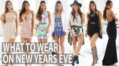 These #outfits are ideal for any kind of #NYEparty. Which is your favorite? #NYEoutfits #OutfitIdea #PartyOutfit