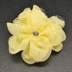 Yellow Hair Clip $5