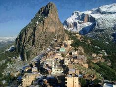Village Agouni Geghran, Tizi Ouzou, Algérie