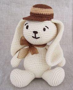 Easy Rabbit Pattern to Sew   Crochet Pattern, Amigurumi Bunny Crochet Pattern, Animal Pattern ...