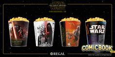 'Star Wars' Marathon Popcorn Tins Revealed