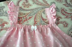 Celebrate the Everyday Things: Tutorial for How to Make a Little Girl's Summer Nightgown