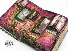 """(3) Mixed Media Art Journal """"Doors"""" by Yulianna Efremova - YouTube"""