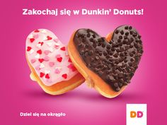 Fall in love with Dunkin' Donuts! Kultowe donuty zza oceanu już w Polsce! :) #dunkindonutspoland #easy #awasome #desserts #sweets #baking #goodies #fun