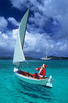 Caribbean Santa - maybe we'll see him in St Thomas next week on our Epic #cruise