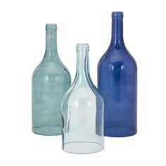 Found it at Wayfair - 3 Piece Cloche Bottle Vase Set