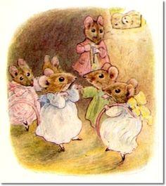 Beatrix Potter - Tale of Mrs. Tittlemouse 1910