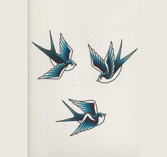 How to Draw a Group of Swallows in a Retro Tattoo Style tattoos Retro Tattoos, Trendy Tattoos, Rockabilly Tattoo Designs, Rose Tattoos, Arm Tattoos, Body Art Tattoos, Sleeve Tattoos, Tatoos, Temporary Tattoos