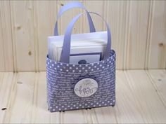 Note Cards with Tote Bag - YouTube