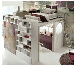 most beautiful loft bed ever