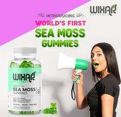 Irish Sea Moss Smackdown! Class Tools, Energy Supplements, Irish Sea, Sea Moss, How To Influence People, Big Money, Gummy Bears, Stressed Out, You Can Do