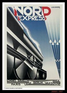 Cassandre's Nord Express