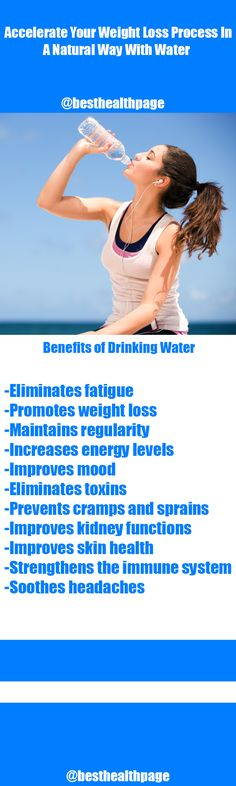 Accelerate Your Weight Loss Process In A Natural Way With Water - Best Health Page