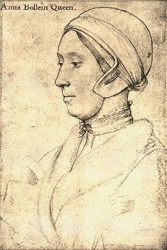Anne Boleyn by Hans Holbein (Younger).