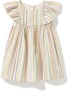 Old Navy Baby Girl Fashion | Flutter Sleeve Dress | Spring 2017