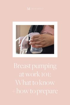For new moms, returning to a regular routine can be hectic after a baby arrives, especially if you're deciding to pump at work.. However, there are several things you can do to help ease the transition back to work as pumping dictates your schedule. Pregnancy Guide, Pregnancy Photos, Pregnancy Announcements, How Long To Pump, Lactation Room, Pumping At Work, Nursing Mother, Morning Sickness, Return To Work