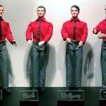 Kraftwerk Action Figures Made From Decapitated Ken Dolls