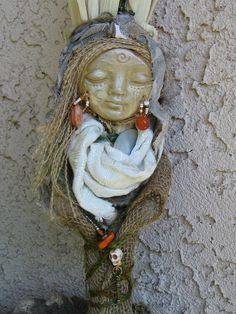 OOAK   Spiral Moon Spirit of Transformation. Corn by awesomeart