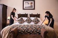 Lough Eske Castle in Donegal Hotel Reservations, Hotel Spa, Guest Room, Comforters, Blanket, Luxury, Bed, Ireland, Furniture