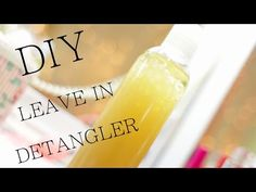 Homemade Leave-in Conditioner for Soft, Shiny Hair | Curly Nikki | Natural Hair Styles and Natural Hair Care