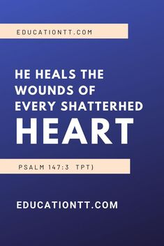 Scriptures on Healing - Are you in need of healing.healing in your body, heailng in your soul or healing in your body? God wants to heal you. Good Scriptures, Bible Verses About Love, Healing Scriptures, Bible Quotations, Bible Quotes, Shattered Heart, Online Tutorials, Jesus Is Lord
