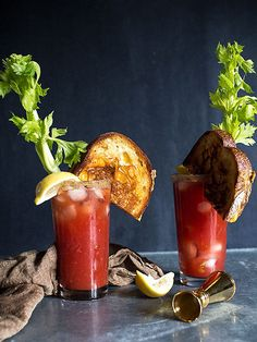 GRILLED CHEESE BLOODY CAESAR