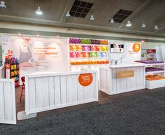 Portable modular booth design by Condit Exhibits