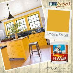 A tu cocina le va a encantar este color Atrévete! Tenemos una amplia gama de colores esperando por ti.  #FerrehogarTips #Color #Decoracion #Hogar #Renovacion #remodelacion #Sensaciones #Emociones #Inspiracion #diy #diydecor #diystyle #DIYHomeDecor #home #homedecor #homestyle #hogar #moderno #minimalista #maracay #aragua