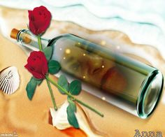 Tranparent bottle