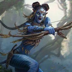Avatar Movie, Avatar Characters, Fantasy Characters, Alien Avatar, Beau Film, Fantasy Creatures, Mythical Creatures, Avatar Disney World, Avatar James Cameron
