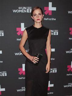 "Emma Watson attends the UN Women's ""HeForShe"" VIP after-party, September 2014."
