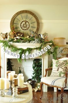 Really like the merry Christmas sign hanging
