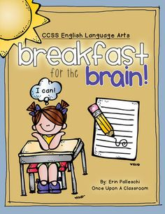 """Morning Work for First Grade - CCSS Aligned with """"I Can"""" Statements! from Once Upon A Classroom by Erin Palleschi on TeachersNotebook.com"""