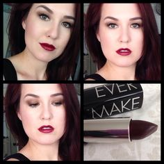 Love this color from Makeup Forever #N50. #mufe #makeupforever #lipstick #aubergine #makeup #beauty #vampylips #vampylipstick
