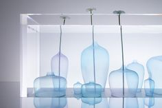 "Nendo, ""Jellyfish vases"" at Jil Sander's, Fuorisalone 2017"
