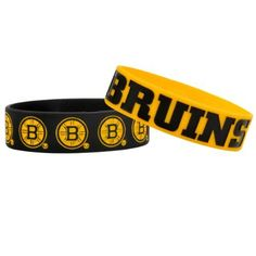 NHL Boston Bruins Bulky Bandz Bracelet 2-Pack by Forever Collectibles. $5.86. 2 Bracelets in a Pack, 2 Different team colors, Streches to fit all. Debossed team logo's and slogans on each band. Save 55%!