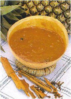 Atol de Piña (Típico salvadoreño) Ricooo!!!!!!!!!!! El Salvador Food, Salvadoran Food, Guatemalan Recipes, Guatemalan Food, Recetas Salvadorenas, Drumstick Recipes, American Dishes, Comida Latina, Spanish Food
