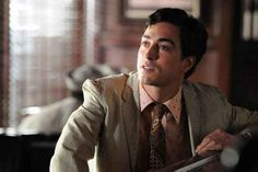 When he looked good even in Ginsberg's power clashing suits on Mad Men.