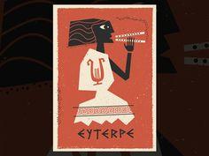 Illustration Euterpe, Jean Mosambi