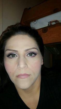 The beginning of my #makeup #days #mac #cosmetics #fotd #beginner #lashes #greeneyes #eyebrows #beauty