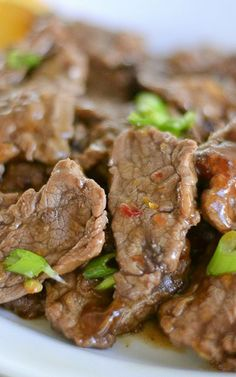 Easy Chinese Orange Beef